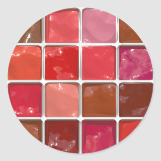 Got Makeup? - Lipstick box Round Sticker
