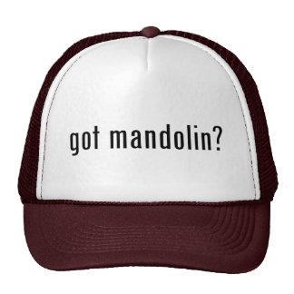 got mandolin? trucker hats