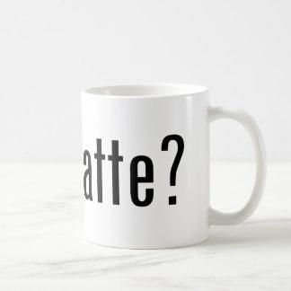 got matte? coffee mug
