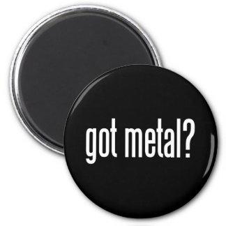 Got Metal 6 Cm Round Magnet