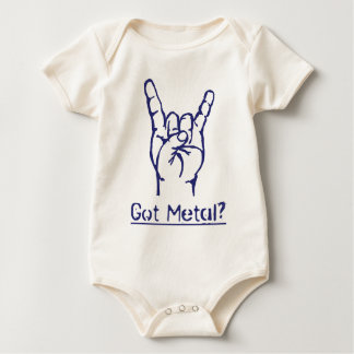 Got Metal? Baby Bodysuit