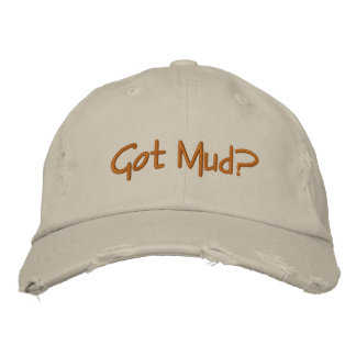 Got Mud? for the potter in  your life! Embroidered Cap