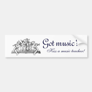 Got Music?  Bumper Sticker