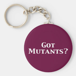 Got Mutants Gifts Basic Round Button Key Ring
