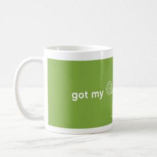 Got My Green On Coffee Mug