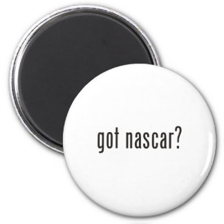 got nascar? 6 cm round magnet