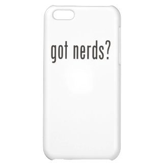 got nerds? cover for iPhone 5C