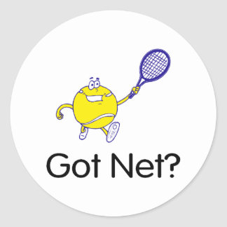 Got Net Round Sticker