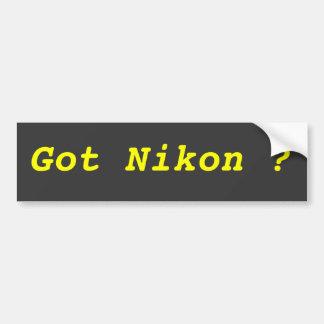 Got Nikon ? Bumper Sticker
