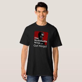 Got Ninja? Black Tall T-Shirt
