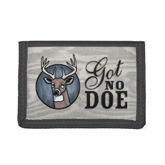 Got No Doe Tri-fold Wallet