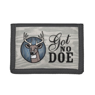 Got No Doe Tri-fold Wallets
