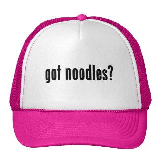 got noodles? trucker hats