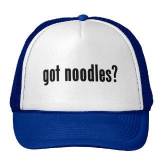 got noodles? mesh hat
