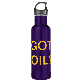 GOT OIL? 710 ML WATER BOTTLE