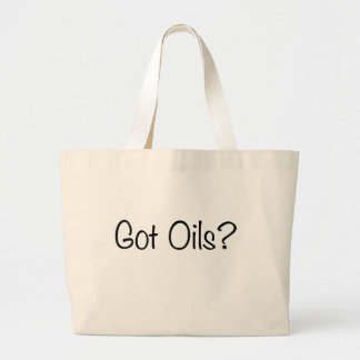 Got Oils? shopping bag