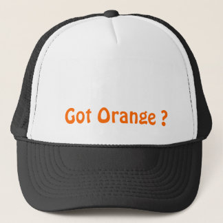 Got Orange Cap? Trucker Hat