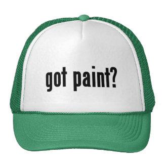got paint? cap