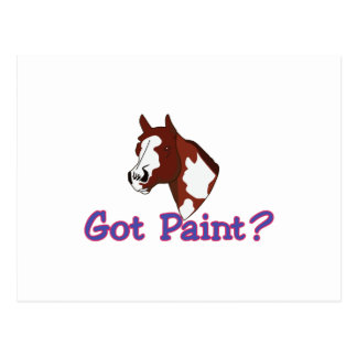 Got Paint? Postcard
