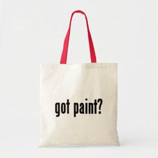 got paint? budget tote bag