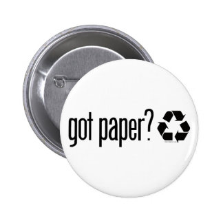 got paper Recycling Sign Button