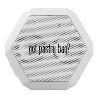 got pastry bag white boombot rex bluetooth speaker