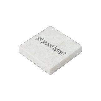 got peanut butter stone magnet
