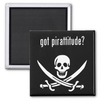 got pirattitude? magnet