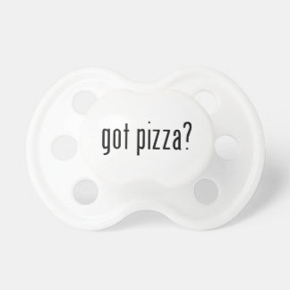 got pizza? dummy