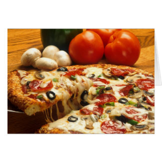Got Pizza? greeting card