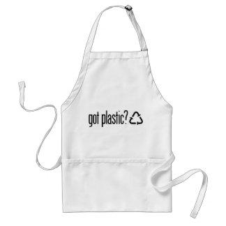 got plastic? Recycling Sign Adult Apron