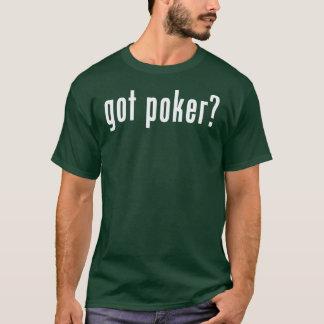 got poker texas hold'em t-shirt