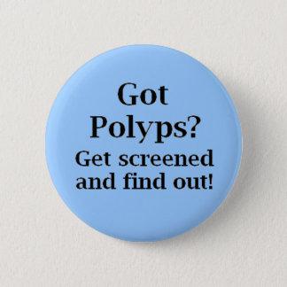 Got Polyps? 6 Cm Round Badge