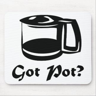 Got Pot Coffee Pot Mouse Pad