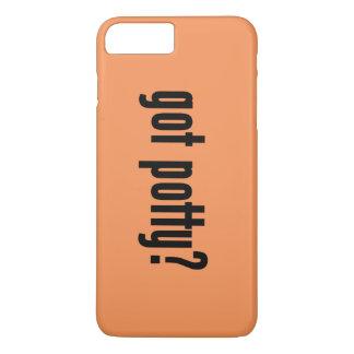got potty? iPhone 7 plus case