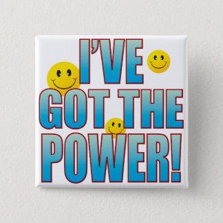 Got Power Life B 15 Cm Square Badge