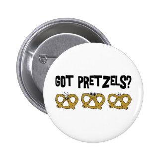 Got Pretzels Pinback Button