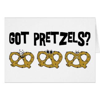 Got Pretzels? Greeting Cards