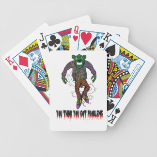 got Problems Bicycle Playing Cards