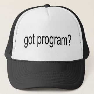 got program arial narrow jjpeg trucker hat