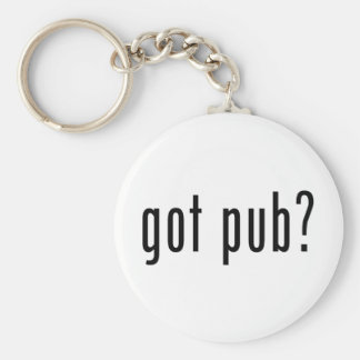 got pub? key chains