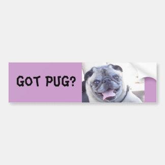 Got PUG? Bumper Sticker