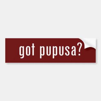 got pupusa? bumper sticker