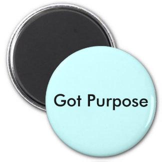 Got Purpose 6 Cm Round Magnet
