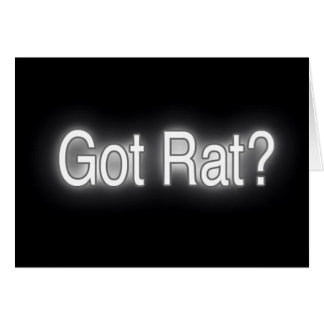 got rat card