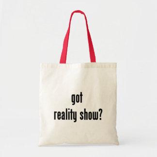 got reality show?