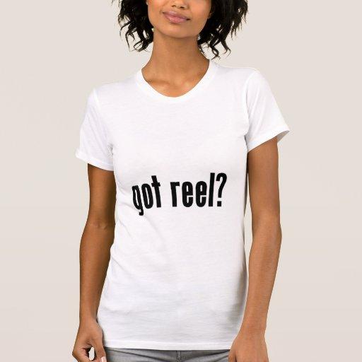got reel? tshirt