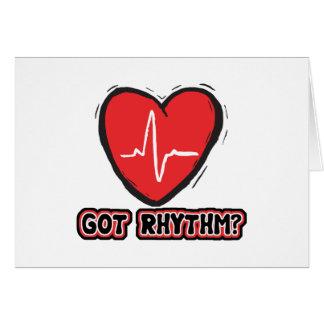 Got Rhythm Greeting Card