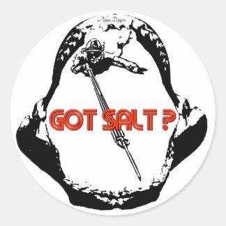 Got Salt Jaw Sticker