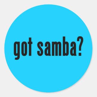 got samba? sticker